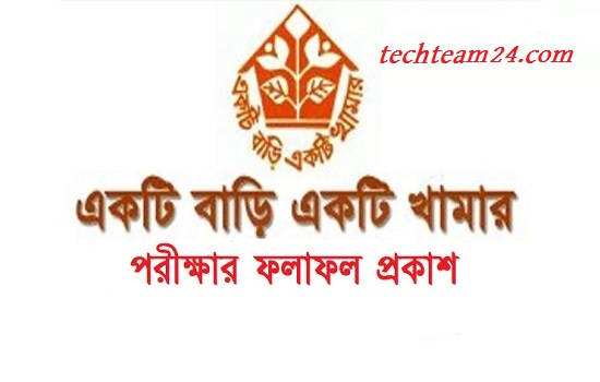 Ektee Bari Ektee Khamar Job Exam Result 2018 [www.ebek-rdcd.gov.bd]
