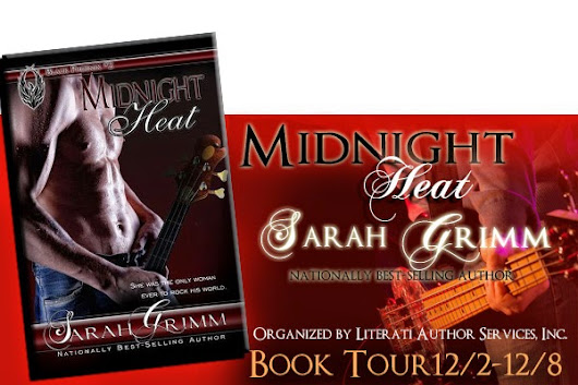 Blog Tour Review & Giveaway ~ Midnight Heat (Black Phoenix #2) by Sarah Grimm