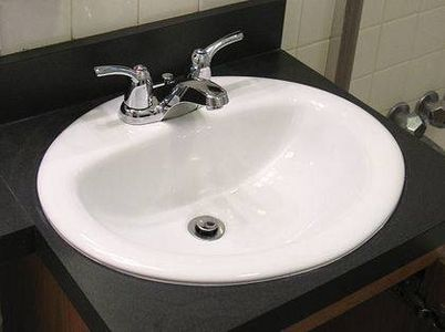 How to Replace a Bathroom Sink  Cabinets and Vanities