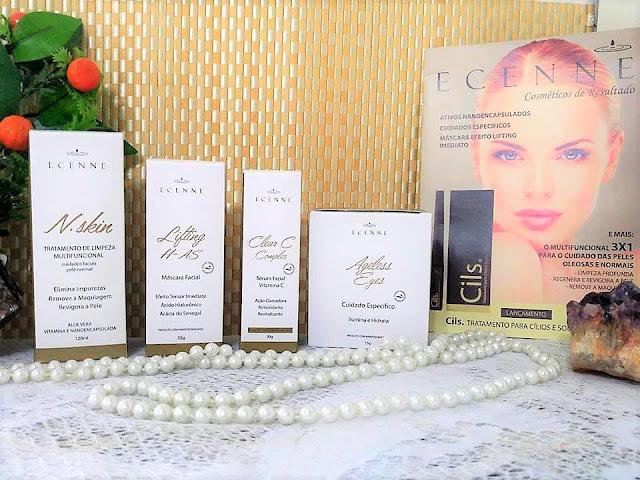 Pele,Beleza Facial,resenha,Ecenne,cosmética facial,Oil free,dermatologicamente testado,regenera a pele,tonifica,linhas de expressão,antioxidante,hidratar