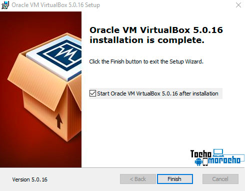 instalar VirtualBox en un sistema con Windows o Mac OS X