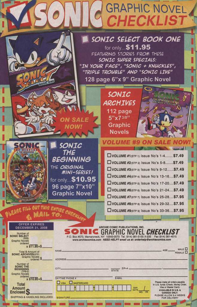Read online Sonic The Hedgehog comic -  Issue #192 - 11