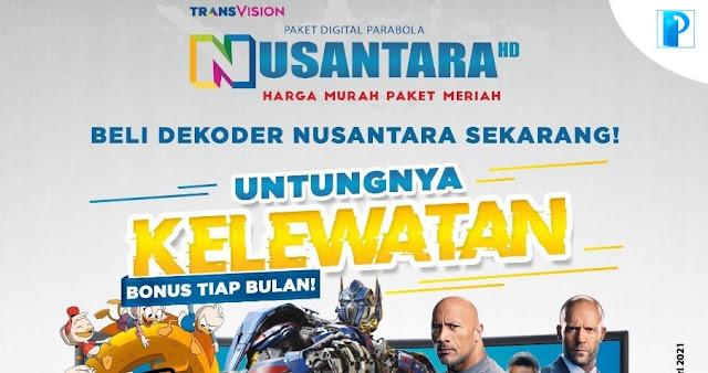 Promo Nusantara HD Bulan Mei 2021