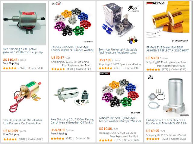 Car Parts & Accessories AliExpress Shop Online Tips
