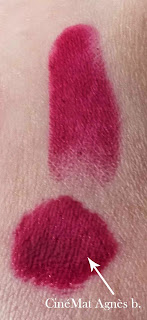 Rouges à lèvres Mega Last Lip Color Wet N Wild sugar plum fairy swatch