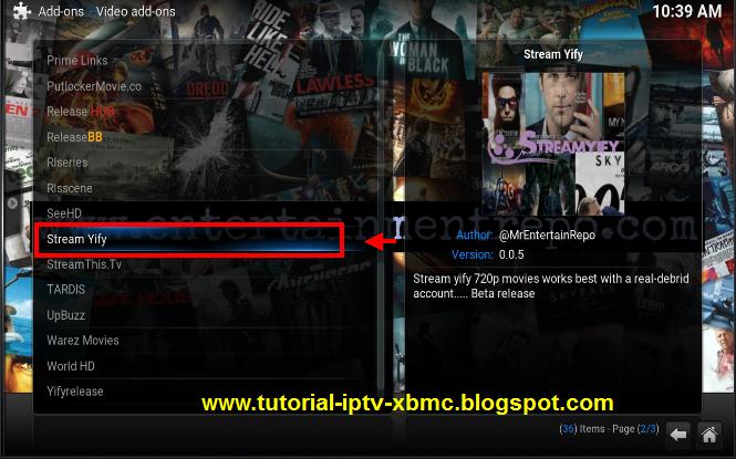 Stream yify Kodi Addon watching HD movies on kodi - New Kodi