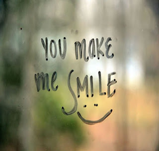 You make me smile - happiness quotes