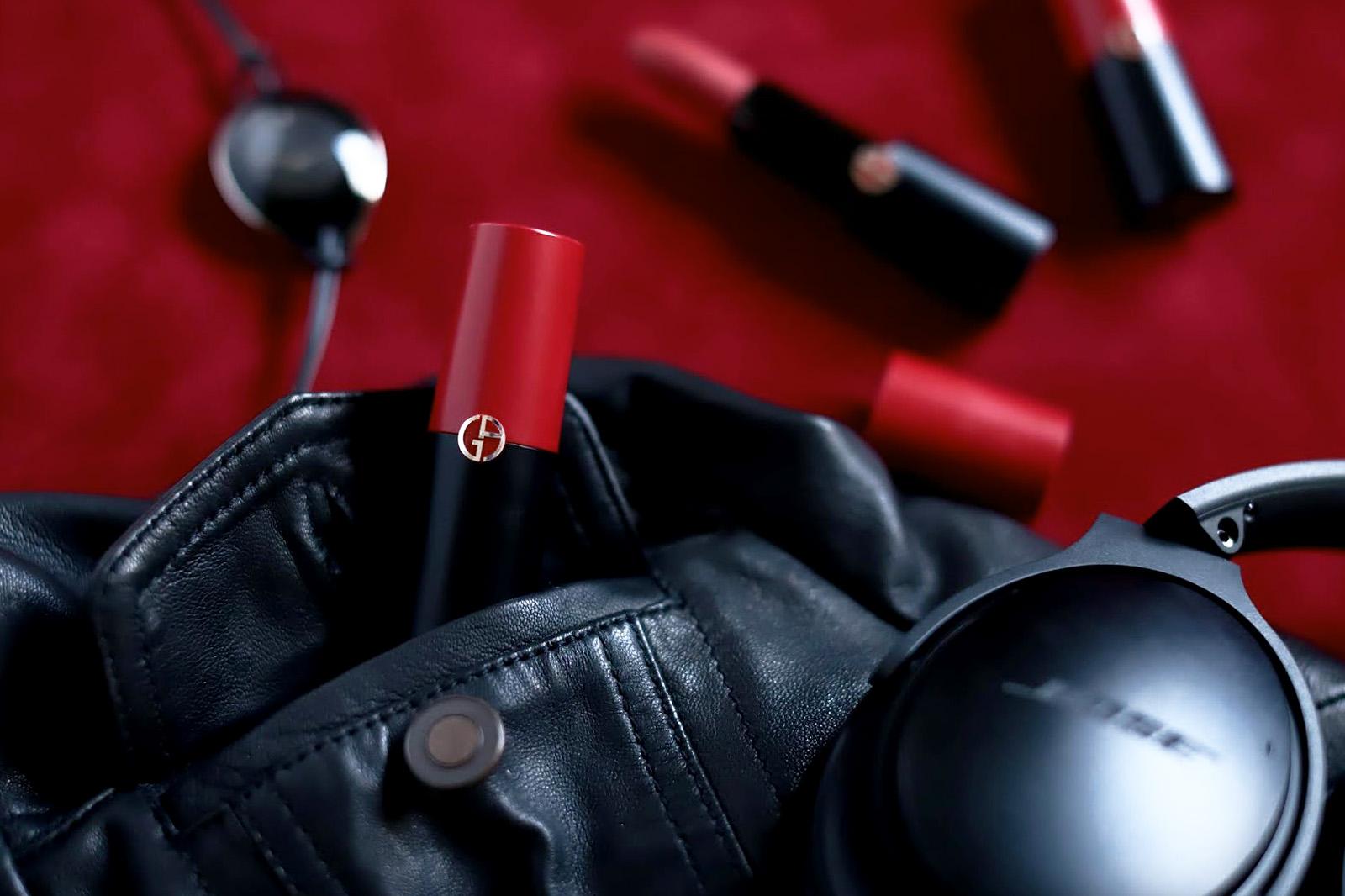 rouge d'armani matte avis test swatch swatches toutes les couleurs teintes