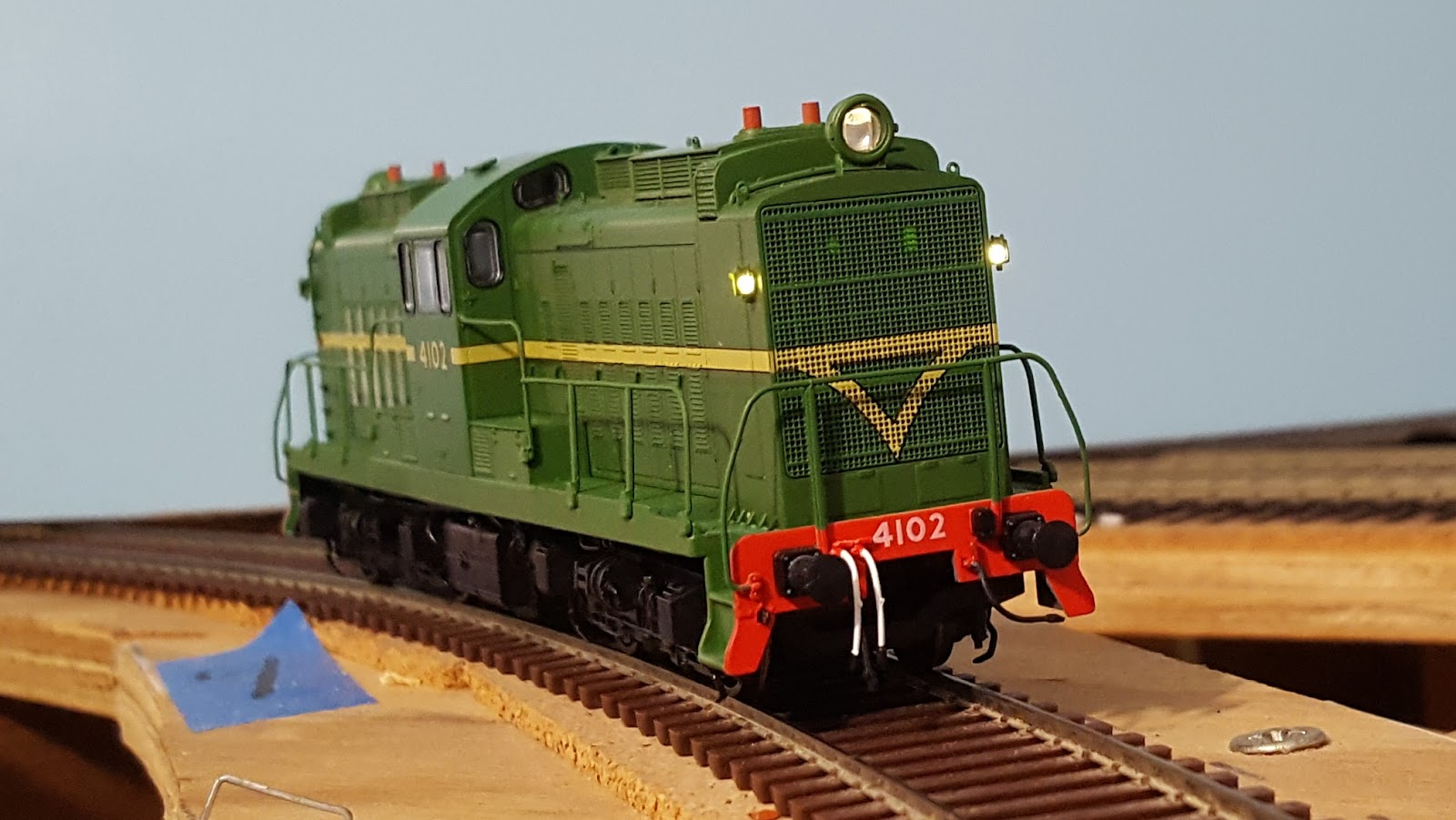 The Mudgee Line Head Lights For Model Trains Headlight And White Markers