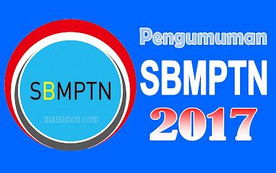 Pengumuman SBMPTN 2017   Seleksi masuk Perguruan Tinggi Negri