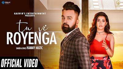 Tu vi Royenga lyrics - Hammy Muzic. Lyrics of Tu vi Royenga song penned by Hammy Muzic. Kalla beh ke tu vi royenga Jive aaj mai ro rai aan