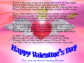 Valentines day poems for boys on valentines day 2013