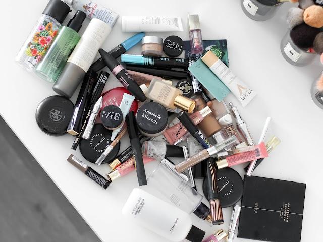 spotřebovaná kosmetika spotřebováno
