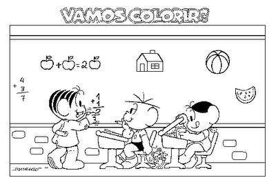 Colorir - volta às aulas