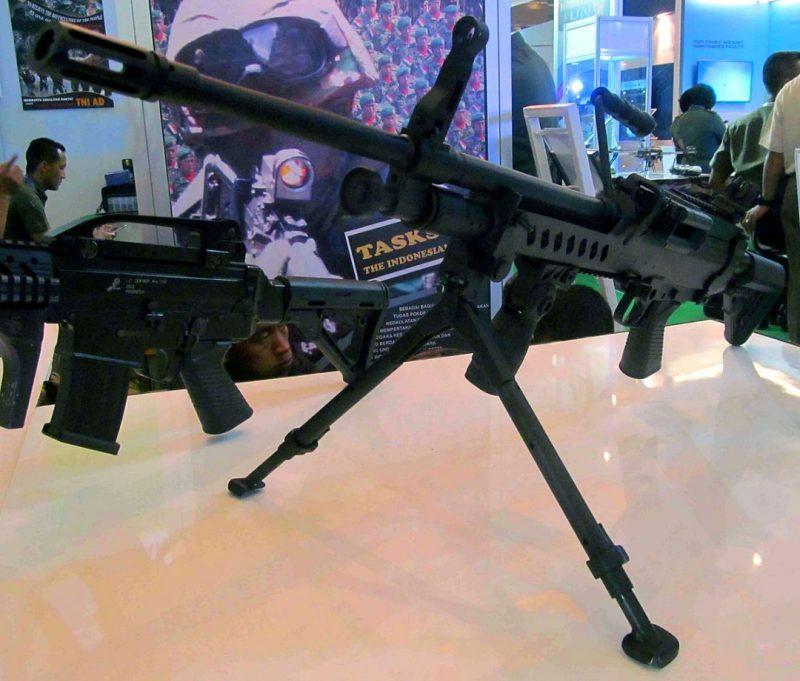 Light machine gun PT PIndad