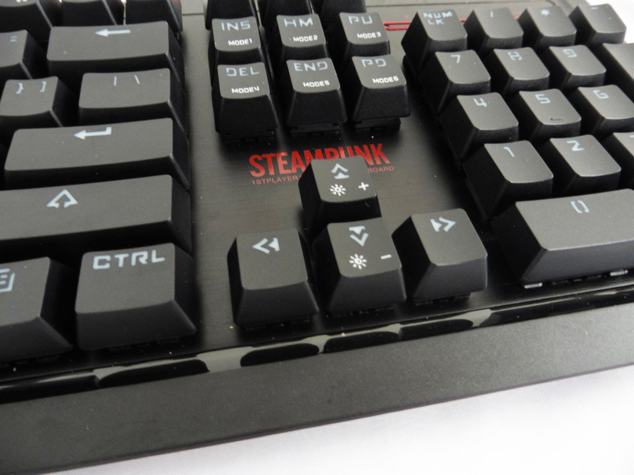 Unboxing & Review: 1STPLAYER Steampunk Mechanical Keyboard 9