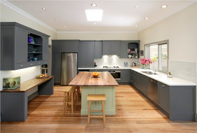 Memiliki dapur merupakan salah satu hal wajib yang harus ada di dalam desain rumah 70 Desain Terbaik Dapur Minimalis Bentuk L