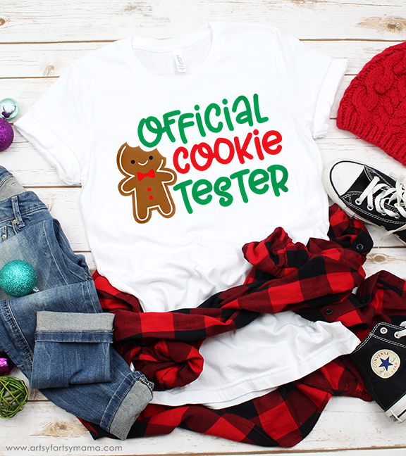 Official Cookie Tester Shirt (Free Cut File)