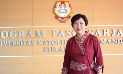 Foto Anita Lee UK Widya Mandala Surabaya / Catatan Adi