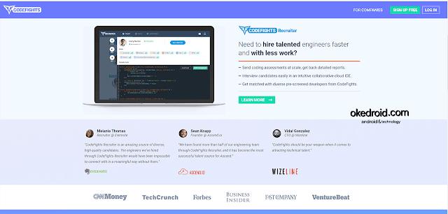 Situs Web CodeFights