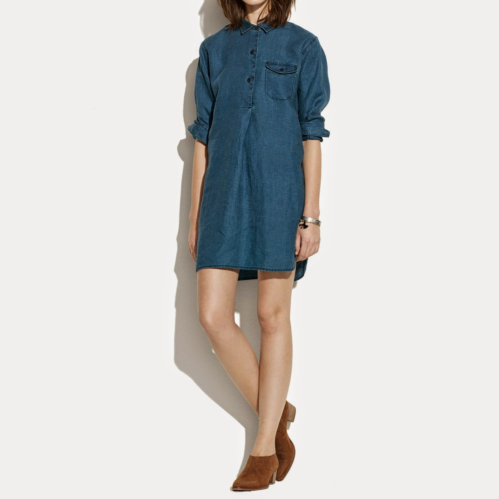 http://www.lyst.com/clothing/madewell-indigo-linen-longsleeve-tunic-dress-in-ultramarine/