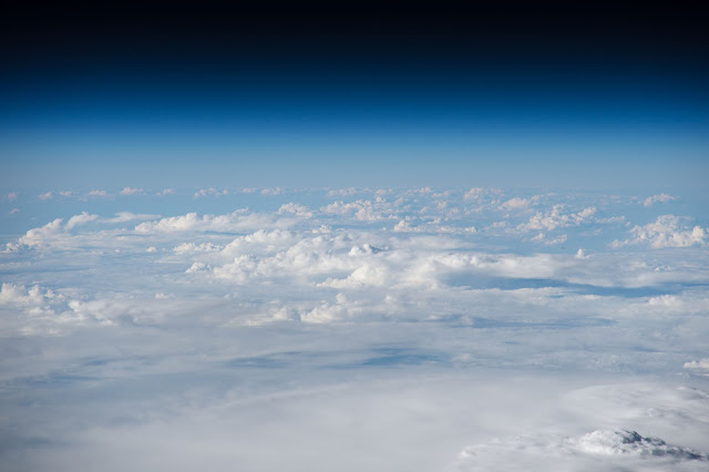 Earth's Atmosphere seen from International Space Station