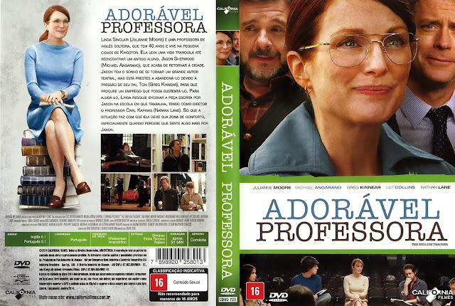 Capa DVD Adorável Professora