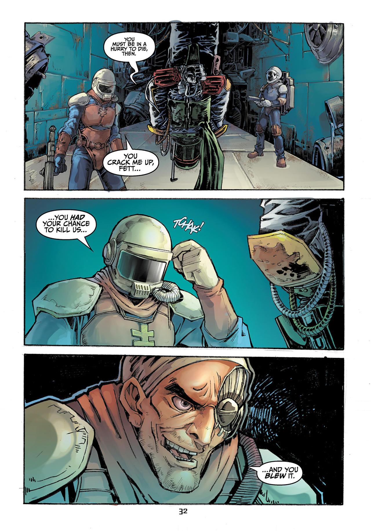 Read online Star Wars Adventures comic -  Issue # Issue Boba Fett and the Ship of Fear - 33