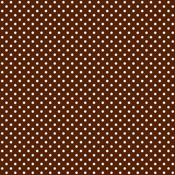 Colored Patterned Polka Dot Design Red