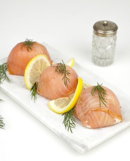 łosośwędzony pomysły na dania