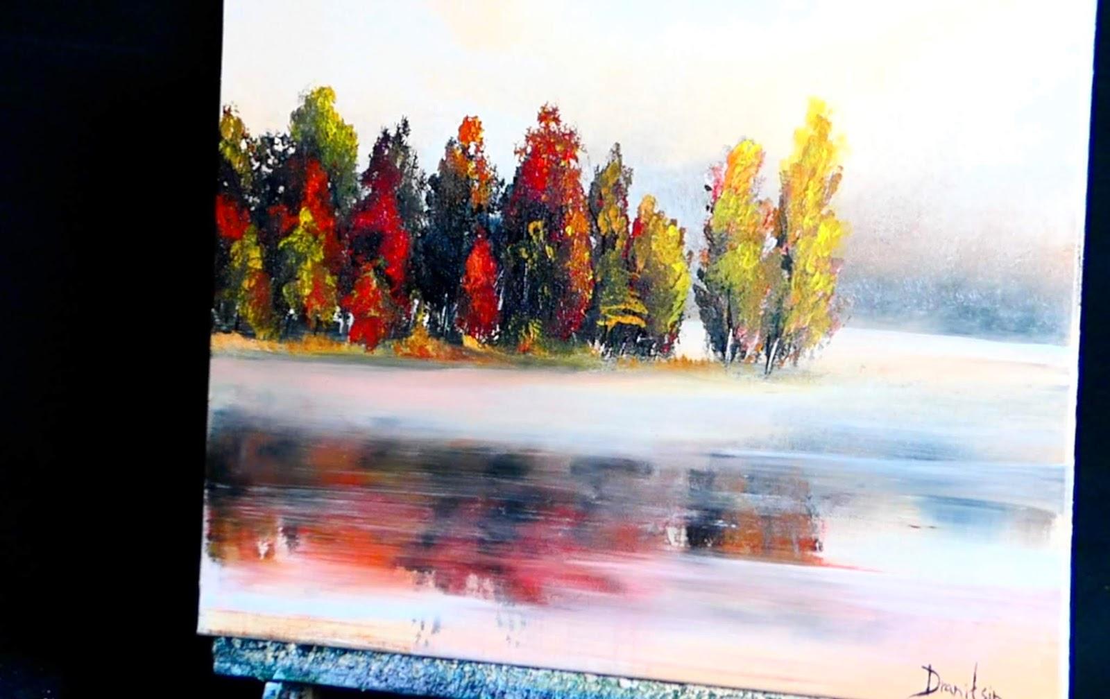 Red Pen Holder Paint Brush Fan Brushes Watercolor Oil Painting Art Supply