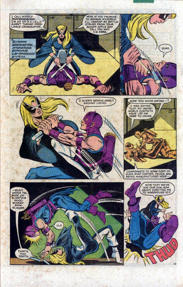 Hawkeye (1983) Issue #1 #1 - English 14