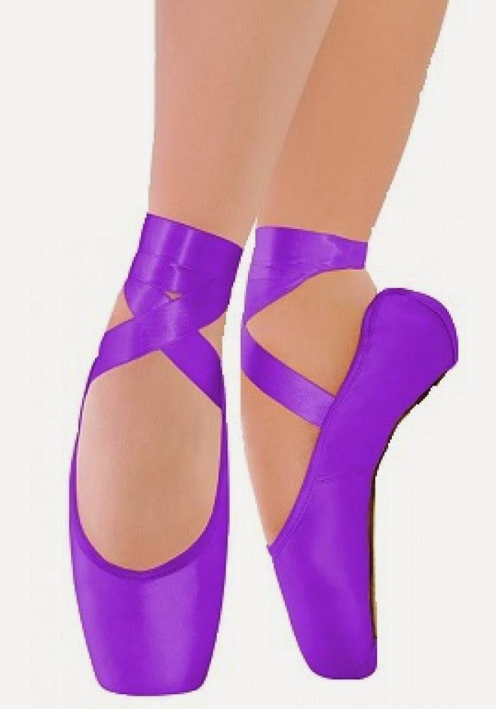 5eb92b2766 Adorei essas sapatilhas de ponta. Principalmente as coloridas