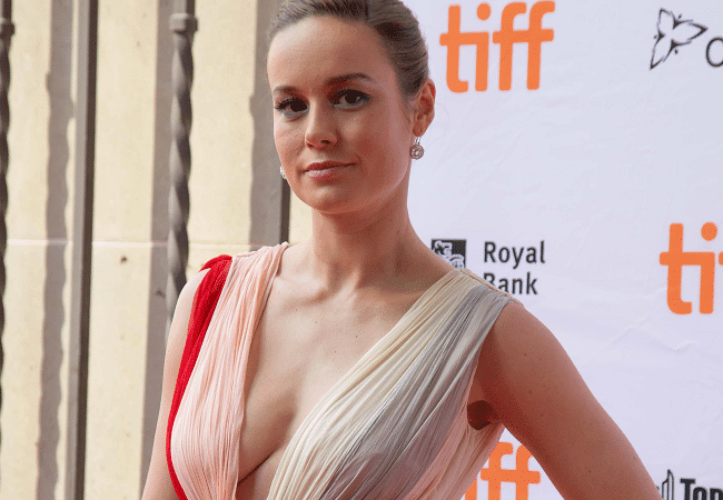 Brie Larson is one of the most beautiful women in Marvel superhero films.