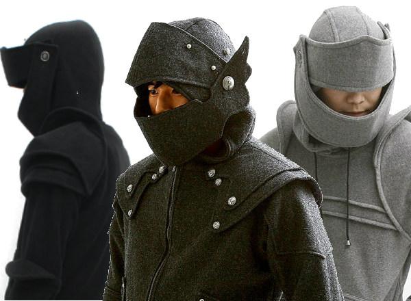 Medieval armor hoodie