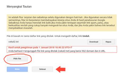 Cara Blokir Website atau Situs Spam di Blog