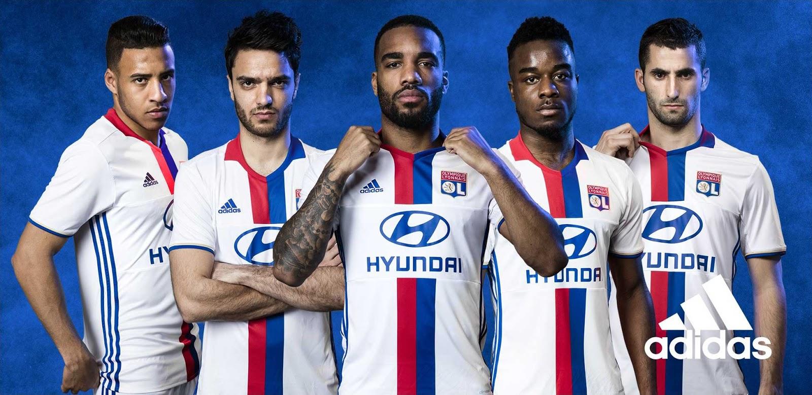 segunda equipacion Olympique Lyonnais nuevas