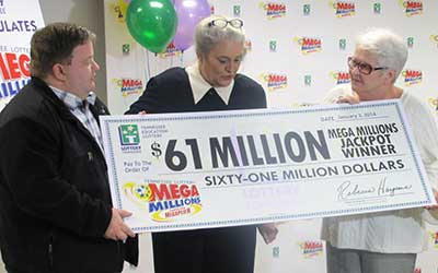 Tennessee welcomes its first Mega Millions jackpot winners