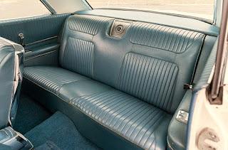 1964 Chevrolet Impala SS Seat Rear