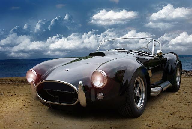 AC Cobra 1960s American classic sports car