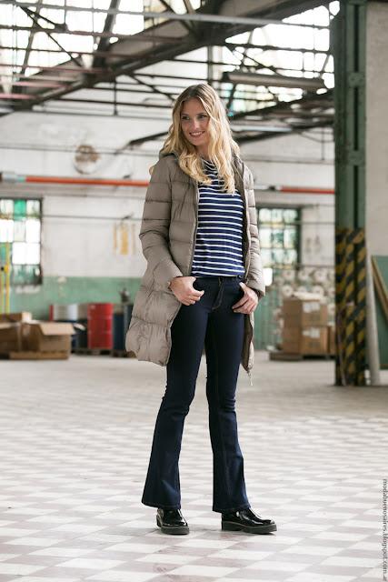 Moda jeans para mujer invierno 2016 ropa Mistral Mujer. Moda 2016.