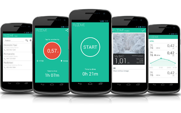 Portable Breathalyzer Test >> Floome Personal Smartphone Breathalyzer | Spicytec