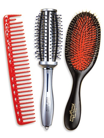 how to brush your hair how to properly brush and b your hair beauty tips advisors