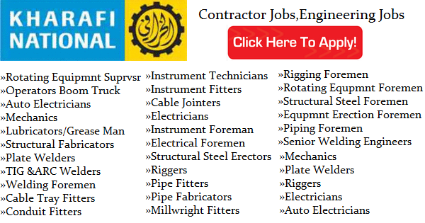 Contractors Job Openings at Kharafi National Kuwait