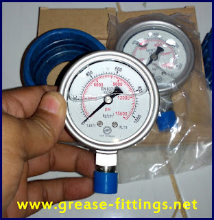PRESSURE GAUGES HAND PUMP