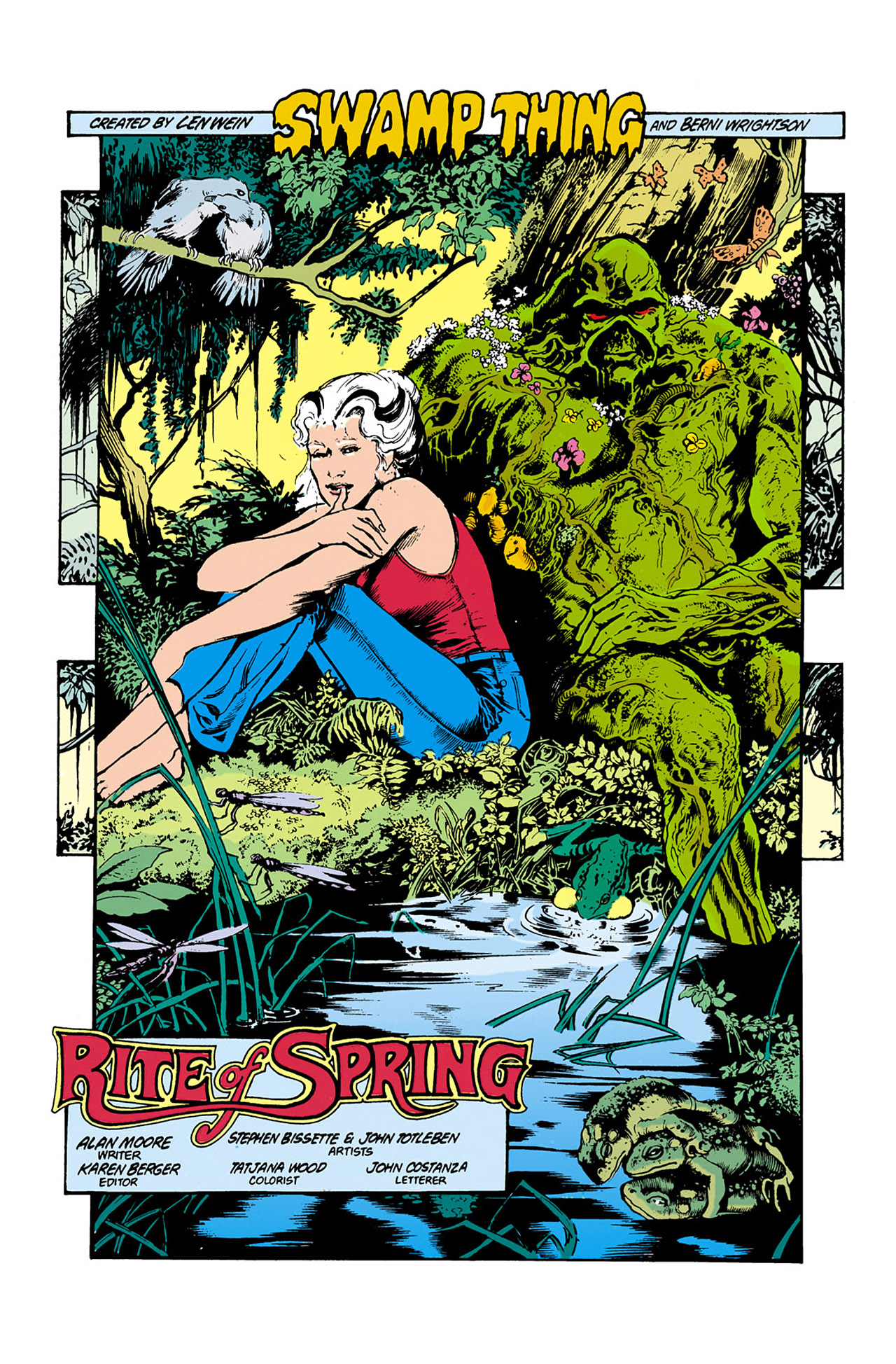Swamp Thing (1982) Issue #34 #42 - English 3