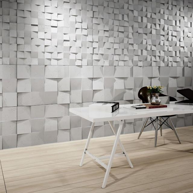 Panele dekoracyjne 3D - odnawiamy mieszkanie.