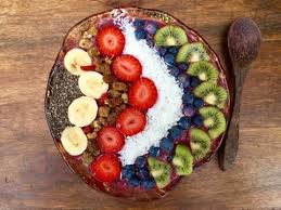 Smoothie Bowl Desayuno Saludable Para Bajar De Peso - Como