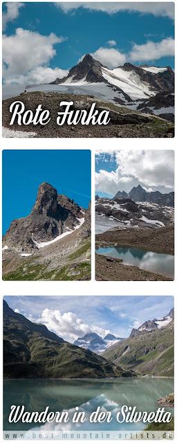 Bielerhöhe - Rote Furka – Silvrettahütte | Wandern Silvretta | Wanderung Montafon Paznaun
