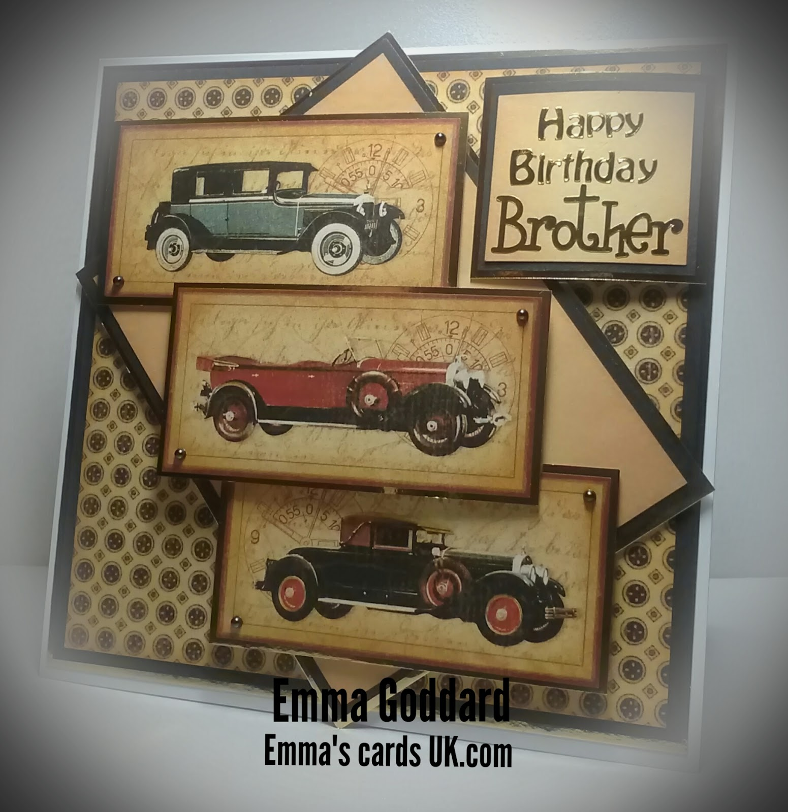 Emmas Cards UK: Vintage Cars